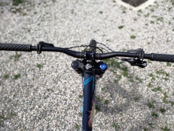 Downhill MTB Devinci Wilson XP  2016 Matte Blue, Blue, Orange L