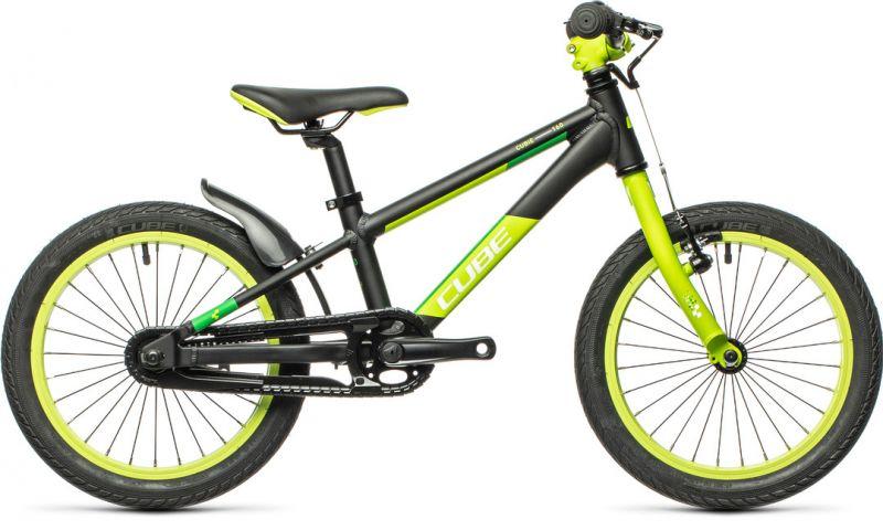 2012100002-00013-00008 - Kids Bike Cube Cubie 160 - 2021 black and green - One Size (New Bike, Scandiano)